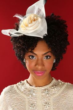 That's a Fascinator!  Gorgeous