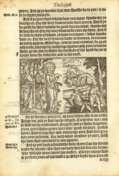 1552 Tyndale Illustrated New Testament. Thanks greatsite.com