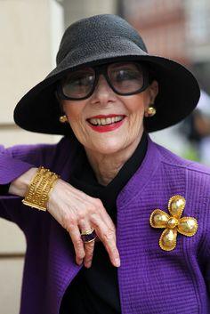 ADVANCED STYLE: Gitte Lee: Style Is Eternal