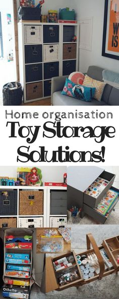 Ideas for Minimising the Toy Clutter: Toy Storage Organisation