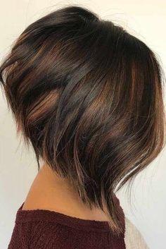 Stylish Short Hair Ideas in 2018 - Hair - Hair Styles Line Bob Haircut, Haircut Short, Stylish Short Hair, Bob Hairstyles, Bob Haircuts, Stylish Hairstyles, Hairdos, Hair 2018, Short Hair Cuts For Women