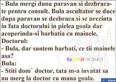 Bula se duce la doctor cu mana goala - Bancuri Fresh Memes, Humor, Facebook, Words, Funny, Quotes, Quotations, Humour, Funny Photos