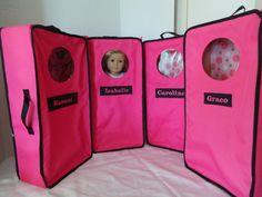 18 Doll Carrier by DollsDamselsandDames on Etsy