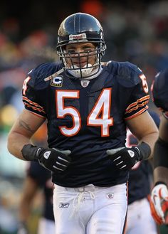 Brian Urlacher , always a Bear!!