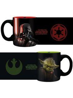 Set de 2 Mini Tazas Star Wars Yoda