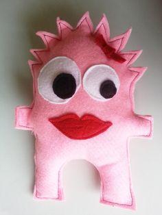Handmade Quirky Felt Monster Plushies by ImagineThem