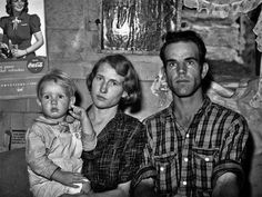 The photographer who captured this image, Russell Lee, was employed by the Farm Security Administration to document the poverty of rural and small-town working families in the South and West. Description from history.uchicago.edu. I searched for this on bing.com/images