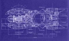 Batmobile-1989 Blueprints