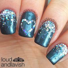 Instagram photo by loudandlavish  #nail #nails #nailart