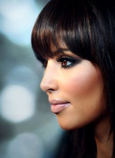 kim k. I always love her hair and make up! http://pinterest.com/toscahairbeauty/ www.toscasalon.com https://www.facebook.com/ToscaHairAndBeauty#!/ToscaHairAndBeauty