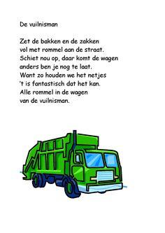 Versje de vuilnisman