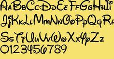 Walt Disney Font