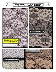 Fabric Depot  - lingerie and bra making supplies and fabrics - stretch lace