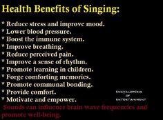Health Benefits of Singing: