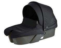 STOKKE XPLORY CARRY COT COMPLETE BLACK