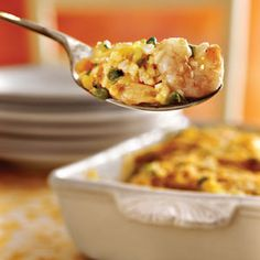 Shrimp Casserole | MyRecipes.com