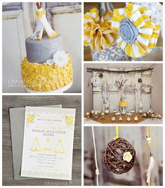 Boho Chic baby shower via Kara's Party Ideas KarasPartyIdeas.com Printables, cake, decor, cupcakes, tutorials, recipes, and more! #bohochic ...