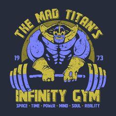 Marvel Comics: Thanos Gym t-shirt.