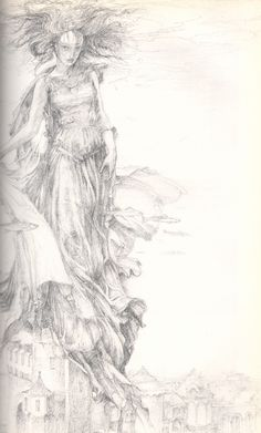 Lady of the Lake by Alan Lee
