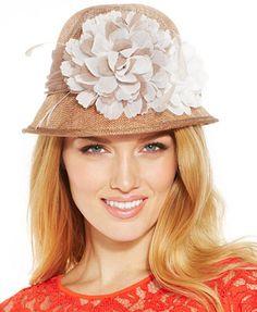 August Hats Poppy Cloche
