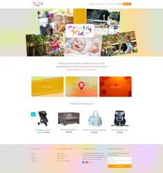 Web Design by H Create! Country Kids Ballarat. A colourful and friendly Shopify store!