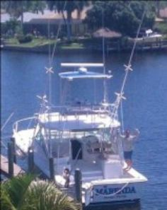 The Serious Fort Myers Deep Sea Fishing Charter Boat