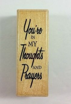 Stampabilities You're In My Thoughts And Prayers Rubber Stamp DR1039 #Stampabilities #Background