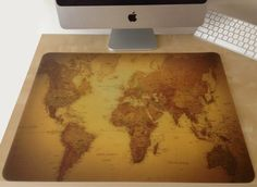 World map with time zonesso makes a great desk pad mapamundi world map with time zonesso makes a great desk pad mapamundi pinterest time zones gumiabroncs Image collections