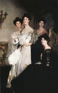 John Da Costa (British, 1867-1931), The Glen Walker Sisters by sofi01, via Flickr