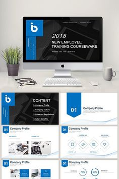 colorful color new employee training theme ppt template templates