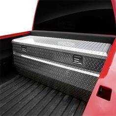 Black aluminum truck tool box XCTB46 aluminum truck toolbox
