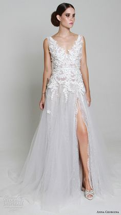 justin alexander signature spring 2016 strapless ball gown beaded embroidered lace chantilly organza underlay beaded metallic lace wedding dress style 9805 back view train