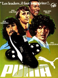 Anuncio de Puma antes del Mundial 82.