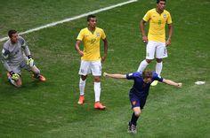 Tercer puesto (Holanda 3 - Brasil 0)