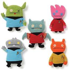 Gund Star Trek SET of 5 Ugly Doll     SALE #GUND