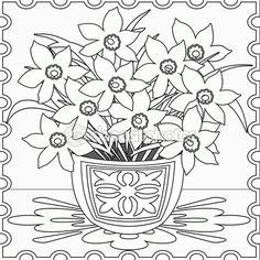 Бесшовный фон страницы раскраска с декоративные цветочные декоративные — Стоковое изображение #102969548