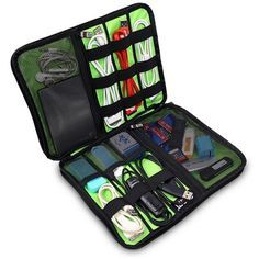 Travel Storage Bag For all Your Hot Gadgets. Travel Storage Bag For all Your Hot Gadgets.Need to get control on all your gadgets and wires?Everything unprotected and messy?Then this is for you  Type: Storage Bags, softProduct: Digital cable storage bagSpecification: S/M/L  hot gadgets