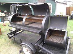 BBQ pit trailer built by me -christhewelder- Order your custom pit @ christhewelder.com Follow on Instagram @ #christhewelder