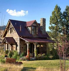 How sweet is this cabin?