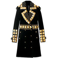 studded wool Givenchy coat - insanity.