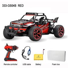 Kedior 1:18 RC Car 4WD Drift Remote Control Cars Machine Highspeed Racing Car Model Toys VS WL TOYS A959
