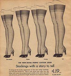 Vintage: Seamed Stockings