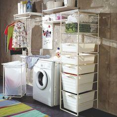 mini laundry room