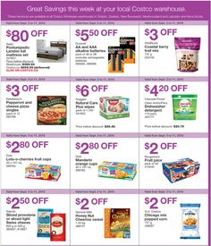 Costco Coupons Ontario, Quebec, Atlantic Canada, Ends September 11, 2016 - costco-ont http://www.groceryalerts.ca/costco-coupons-ontario-quebec-atlantic-canada-ends-september-11-2016/