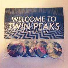 twin peaks welcome to twin peaks pin pack. by truebelieversfanclub
