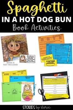 This book companion contains activities for the book Spaghetti in a Hot Dog Bun by Maria Dismondy. It includes comprehension questions, vocabulary activities, graphic organizers, and a spaghetti in a hot dog bun craft.