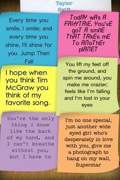 just some taylor swift's quotes