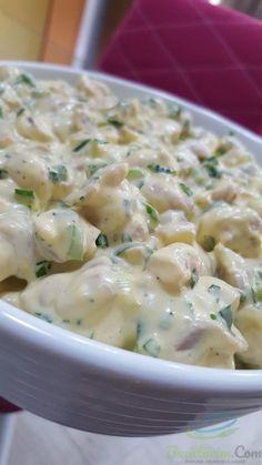 Ciuperci cu maioneza si iaurt grecesc