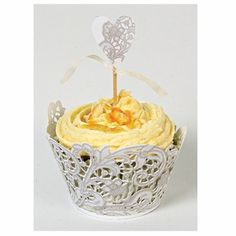I want lace cupcake liners!