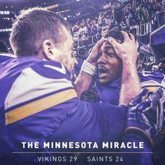 ba766d5a65f Vikings Minnesota Miracle sweetened by winning memes